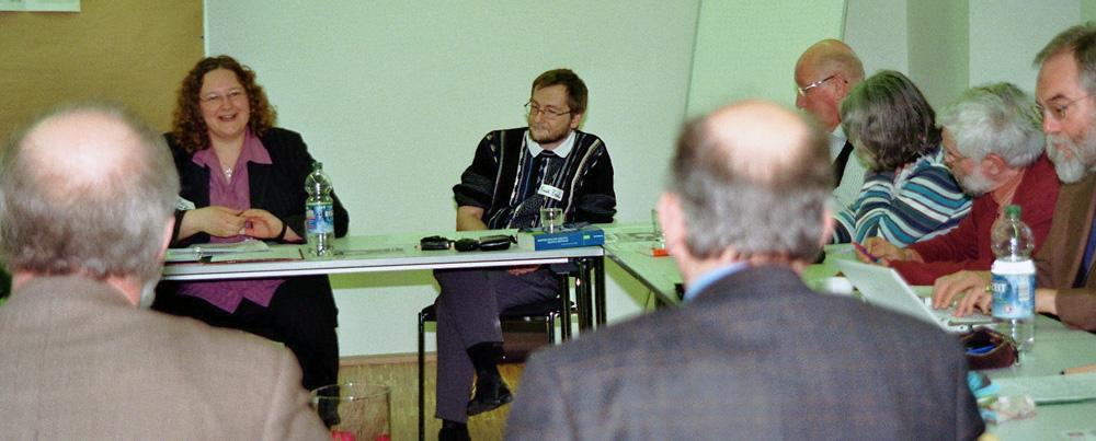 """Teilnehmer/innen der Konsultation: """"Hausgemachte Religion"""" in Bad Urach"""